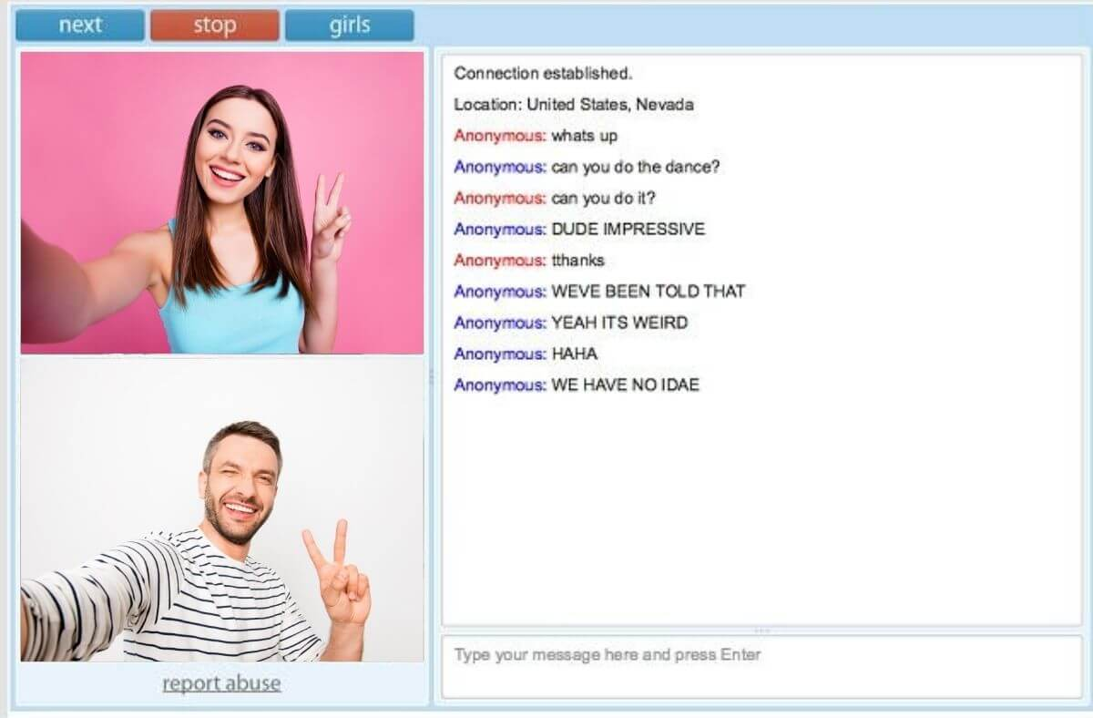 Omegle Live Video Chat - Talk to Strangers by Random Chat